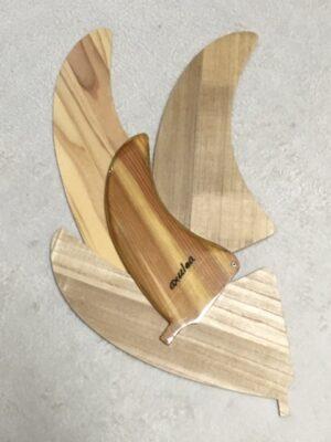 Wooden fin